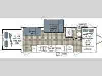 Floorplan - 2010 Dutchmen RV Kodiak 24KS-SL
