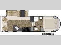Floorplan - 2011 Heartland ElkRidge 27RLSS