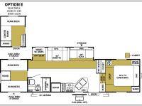 Floorplan - 2005 Forest River RV Wildwood 325 BHSS