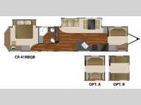 Floorplan - 2011 Heartland Country Ridge 41RBQB
