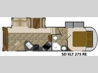 Floorplan - 2011 Heartland Sundance XLT 275RE
