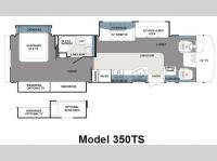 Floorplan - 2011 Forest River RV Georgetown 350TS
