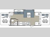 Floorplan - 2010 Dutchmen RV Aerolite 241