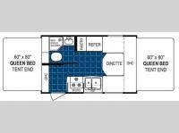 Floorplan - 2010 Dutchmen RV Aerolite 160