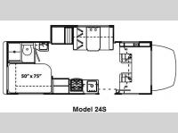 Floorplan - 2011 Forest River RV Solera 24S