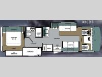 Floorplan - 2010 Forest River RV Georgetown Semi-Basement 320DS
