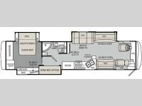 Floorplan - 2011 Holiday Rambler Neptune 40 PBT