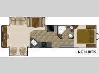 Floorplan - 2011 Heartland North Country 31RETS