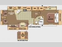 Floorplan - 2010 Jayco Eagle 321RLMS