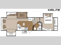 Floorplan - 2011 Dutchmen RV Colorado 321RL-FW