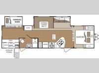 Floorplan - 2011 Dutchmen RV Four Winds 311BHDS