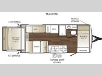 Floorplan - 2011 Keystone RV Outback 210RS