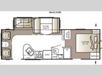 Floorplan - 2011 Keystone RV Outback 268RL