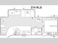 Floorplan - 2004 Keystone RV Sprinter 274RLS