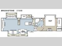 Floorplan - 2011 Coachmen RV Brookstone 370MB