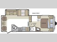 Floorplan - 2011 Keystone RV Cougar 276RLS