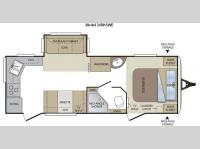 Floorplan - 2011 Keystone RV Cougar 24RKSWE