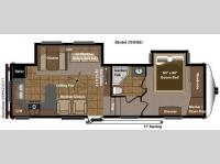 Floorplan - 2011 Keystone RV Mountaineer 295RKD