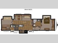 Floorplan - 2011 Keystone RV Mountaineer 346LBQ