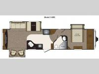 Floorplan - 2011 Keystone RV Laredo 310RE