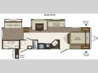 Floorplan - 2011 Keystone RV Laredo Super Lite 303TG