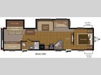 Floorplan - 2011 Keystone RV Sprinter Select 31BH