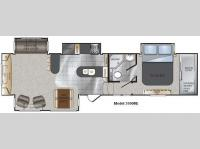 Floorplan - 2011 Keystone RV Alpine 3500RE