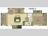 Floorplan - 2011 Open Range RV 280RLS