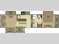 Floorplan - 2011 Open Range RV 385RLS