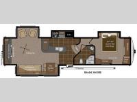 Floorplan - 2011 Keystone RV Montana 3665 RE