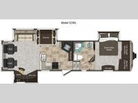 Floorplan - 2011 Keystone RV Montana High Country 323RL
