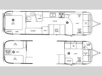 Floorplan - 2011 Airstream RV Classic Limited 34