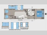 Floorplan - 2011 Jayco Eagle Super Lite 30.5RLS