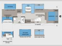 Floorplan - 2011 Jayco Jay Flight G2 32BHDS