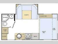 Floorplan - 2011 Lance Travel Trailers 1685