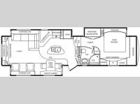 Floorplan - 2011 DRV Luxury Suites Mobile Suites 38 RESB3