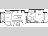 Floorplan - 2011 DRV Luxury Suites Mobile Suites 38 RSSB3