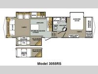 Floorplan - 2011 Forest River RV Cardinal 3055RS