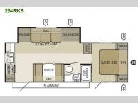 Floorplan - 2011 Starcraft  Autumn Ridge 264RKS