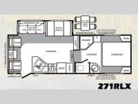 Floorplan - 2011 Forest River RV Wildcat extraLite 271RLX