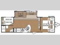 Floorplan - 2011 Dutchmen RV Aspen Trail 2810BHS