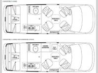 Floorplan - 2011 Airstream RV Avenue Avenue