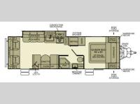Floorplan - 2012 EverGreen RV Ever-Lite 31RLS