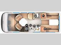 Floorplan - 2006 Roadtrek - 190 Popular 190-Popular