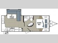Floorplan - 2011 Dutchmen RV Kodiak 242RESL