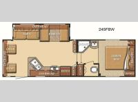 Floorplan - 2012 Gulf Stream RV Conquest 245FBW