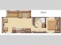 Floorplan - 2012 Gulf Stream RV Conquest 281RLS