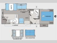 Floorplan - 2011 Jayco Eagle Super Lite HT 26.5RKS