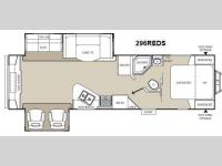 Floorplan - 2012 Coachmen RV Freedom Express 296REDS