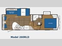 Floorplan - 2012 Prime Time Manufacturing Crusader 260RLD